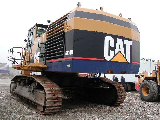 2002 Cat 5110b Excavators Jarp Equipment