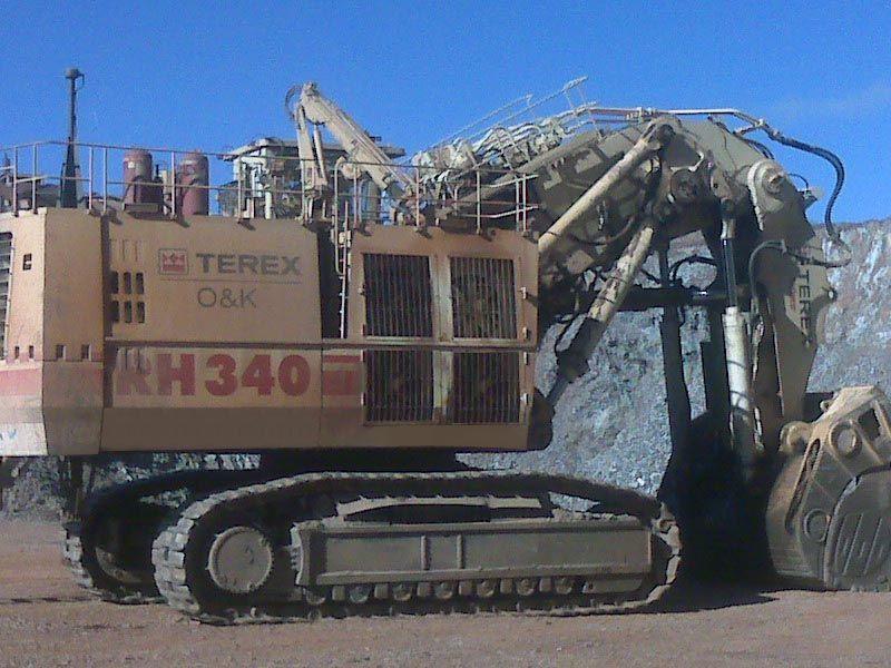 Ac Auto Parts >> 2007 Terex RH340 - Excavators - JARP Equipment