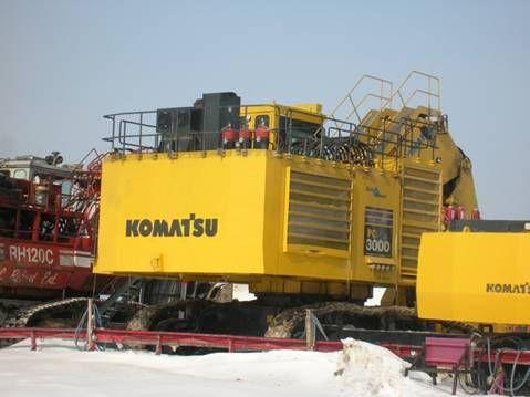 2007 Komatsu Pc3000 Excavators Jarp Equipment