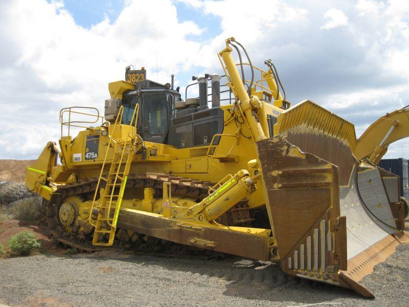 bulldozer /ruspe apripista trattori komatsu 4478-05